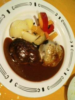 キッチン瀬田のハンバーグ
