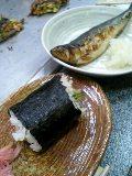 巻寿司といわし