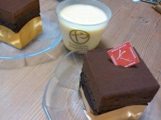 今日のやまだやケーキ 20121212