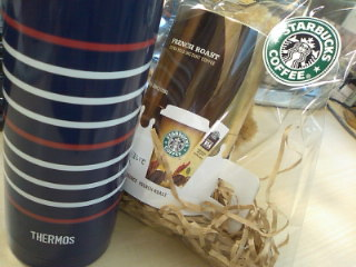 THERMOS in STARBUCKS