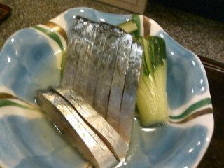 美味しいお魚の夜