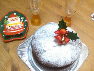 クリスマス・チョコケーキ
