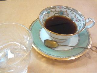 今朝のコーヒー