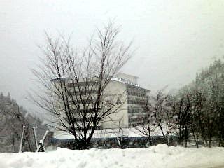 奥飛騨温泉到着。