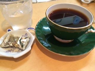 休日の朝コーヒー