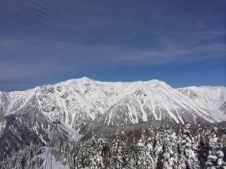 西穂高岳展望台