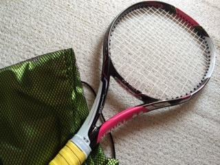 新しいラケット