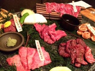 8月の焼き肉